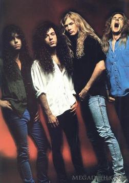 Megadeth группа — фото 90-х, музыка и клипы 90-х