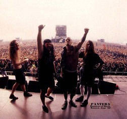 Pantera группа — фото 90-х, музыка и клипы 90-х